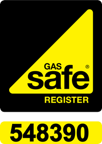 Gas Safe registration number 548390
